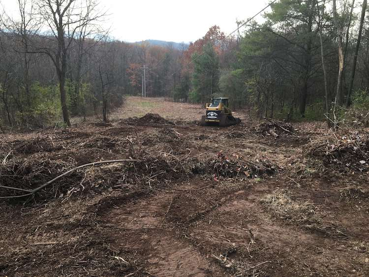 Lot Clearing in Sugarcreek Twp